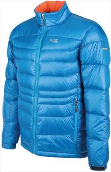 Alpine Crown Mefisto Light Down Jacket, S/M Light Blue/Orange