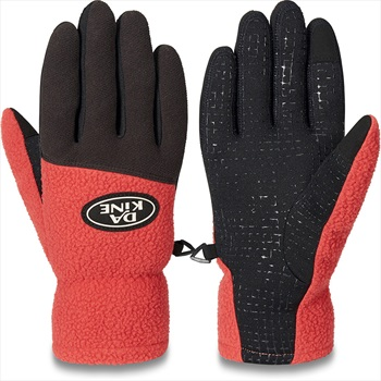 Dakine Transit Thermal Ski/Snowboard Fleece Gloves, S Tandoori Spice