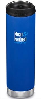 Klean Kanteen Insulated TKWide Cafe Cap Water Bottle, 592ml Deep Surf