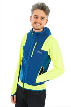 Kilpi Adult Unisex Joshua Softshell Jacket, XL Yellow/Blue