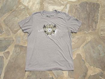 Liquid Force Shield SS Knit T Shirt, Large Indigo