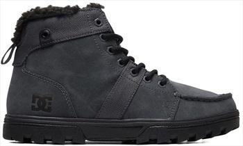 DC Woodland Men's Winter Boots, UK 10.5 Grey/Black