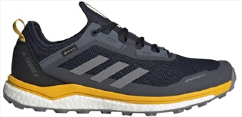 Adidas Terrex Agravic Flow GTX Trail Shoes, UK 8 Grey Three F17