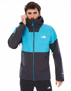 The North Face Impendor C-Knit Waterproof Jacket, XL Blue/Black