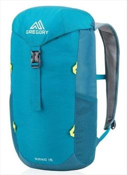 Gregory Adult Unisex Nano 16 Travel Backpack, 16L Meridian Teal