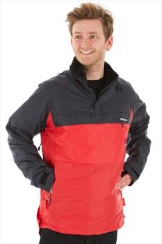 Buffalo Tecmax Shirt Technical Windproof Jacket, XXL Black/Red