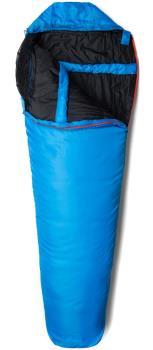 Snugpak Travelpak 2 Lightweight Sleeping Bag, Regular Blue LH Zip