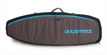 "Liquid Force DLX Surf and Skim 2 Board Wakesurf Traveler, 5'4"" Black"