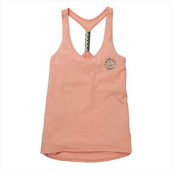 Burton Baltra Women's Cotton Tank Top Vest, M Dusty Pink