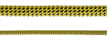 Black Diamond 7.0 Dry Rock Climbing Rope - 60m, Yellow