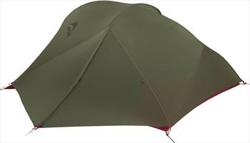 MSR FreeLite 3 V2 Ultralight Backpacking Tent, 3 Person Green/Red