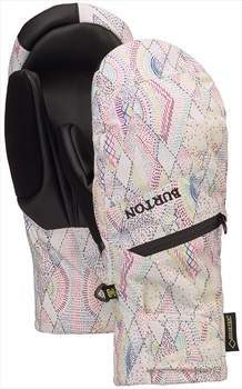 Burton Gore-Tex Under Women's Ski/Snowboard Mitts, XL Diamond Dot