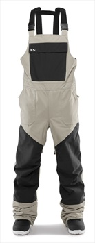 thirtytwo Basement Bib Snowboard/Ski Pants, M Stone 2020