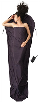 Cocoon Thermolite Silkweight Sleeping Bag Liner, 241x90/56cm Volcano