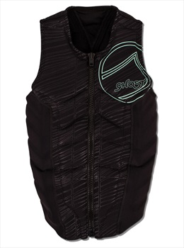 Liquid Force Ghost Comp Ladies Wakeboard Impact Vest, M Black 2019