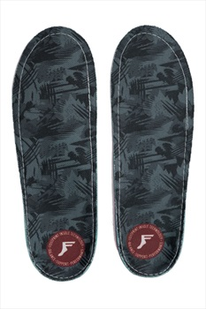 Footprint Dark Grey Camo Game Changers Insoles, UK 9-9.5 Grey