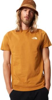 The North Face Adult Unisex Simple Dome Men's Short Sleeve T-Shirt, L Timber Tan