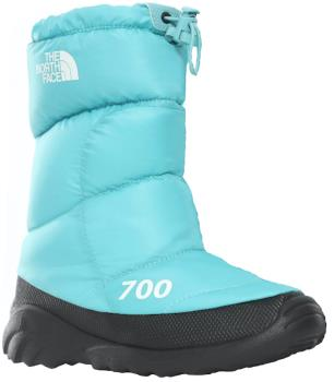 The North Face Womens Nuptse 700 Women's Snow Booties, Uk 8 Blue/Tnf White