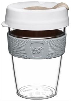 KeepCup Original Clear Reusable Tea/Coffee Cup, 340ml/12oz Nimbus
