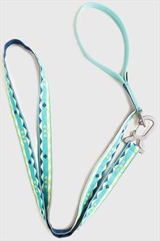 United By Blue Woven Dog Leash Webbing Pet Lead, 6' Diamond Stripe