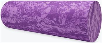 "Gaiam Restore 18"" Marbled Foam Roller, Purple"