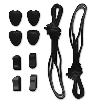 Liquid Force Lace and Lock Kit For Wakeboard Bindings 120cm Black
