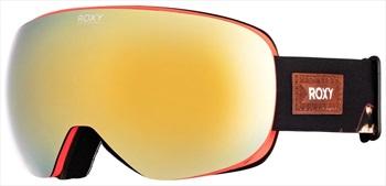 Roxy Popscreen Torah Bright Gold Women's Ski/Snowboard Goggles, Black