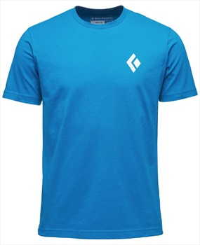 Black Diamond Equipment For Alpinists Short Sleeve Tee: S, Kingfisher