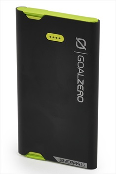 Goal Zero Sherpa 15 Power Bank Compact USB Device Charger, 3870mAh