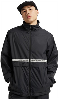 Burton Melter Waterproof Windbreaker Jacket, M True Black