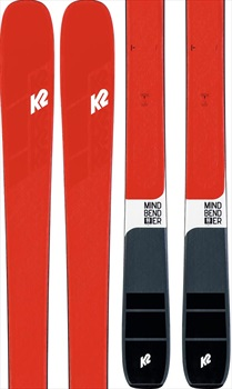K2 Adult Unisex Mindbender 90C Ski Only Skis, 177cm Red/Black 2020