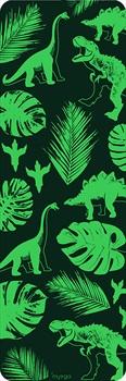 Myga Children's Printed Yoga Mat, 6mm Jurassic Jungle