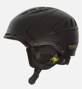 K2 Adult Unisex Diversion Ski/Snowboard Helmet, M Black