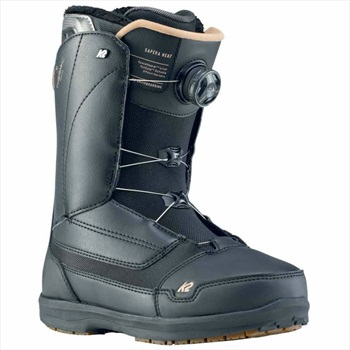K2 Sapera BOA Women's Snowboard Boots, UK 6.5 Black 2020