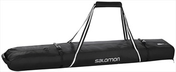 Salomon Extend 2 Pairs 175+20 Ski Bag 195cm Black/Light Onix