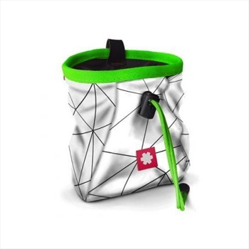 Ocun Lucky Rock Climbing Chalk Bag, White Green Cartoon