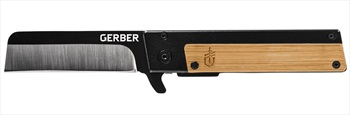 Gerber Quadrant Clip Folding Pocket Knife, Bamboo