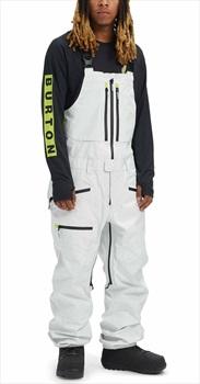 Burton Gore-Tex 3L Frostner Ski/Snowboard Bib Pants, M Stout White