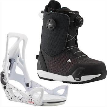Burton Ritual LTD BOA Step On Womens Snowboard Binding & Boots UK 5