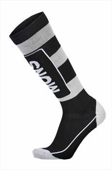 Mons Royale Mons Tech Cushion Men's Ski/Snowboard Socks S Black/Grey