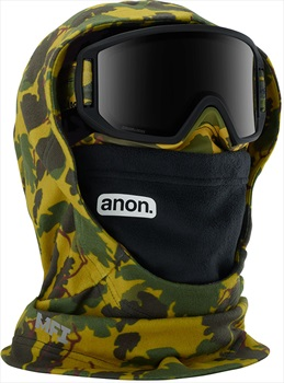 Anon Hooded Clava Kid's MFI Facemask, Camo