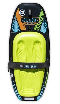 O'Brien Black Magic Roto Moulded Kneeboard, Black Green 2020