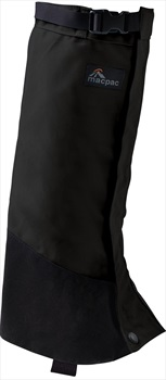 Macpac Cascade Gaiter Hiking Boot Gaiters, XL Black