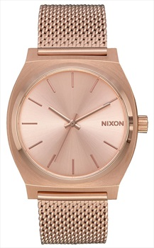 Nixon Time Teller Milanese Women's Watch, All Rose Gold