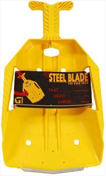 Grivel Steel Blade Shovel Compact Avalanche Spade, 41cm Yellow