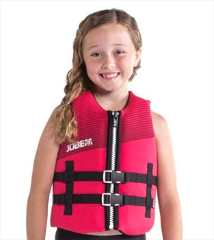 Jobe Neoprene 50N ISO Kids Buoyancy Aid Vest, 16 Pink 2020