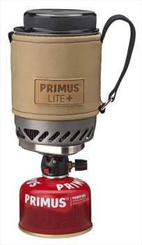 Primus Lite+ Stove Lightweight Backpacking Stove, Sand