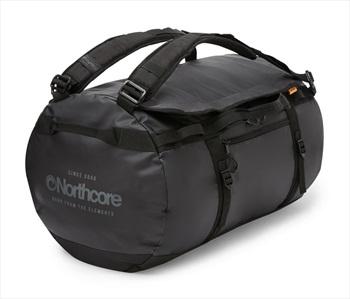 Northcore Adventurer 40L Duffel Travel Bag, 40L Black/Grey