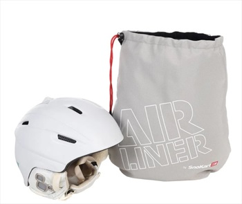SnoKart Helmet AirLiner Ski/Snowboard Helmet Bag, 46cm X 50cm Grey