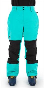 Planks Feel Good Ski/Snowboard Pants, XXL Teal